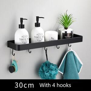 Bathroom Shelf Wall Shelves Corner Wall Mounted Aluminum Kitchen Storage Hol Y1