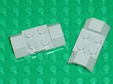 2 x LEGO space OldGray Car Mudguard ref 3787 / Set 462 897 671 483 926 920 493
