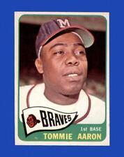 1965 Topps Set Break #567 Tommie Aaron NR-MINT *GMCARDS*