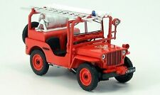 Jeep Willys Sapeurs Pompiers du Tarn 845002 1/43 Norev