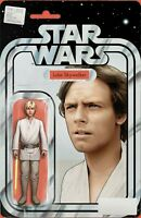 Star Wars (2020) Marvel - #6, Yellow Lighsaber Action Figure Variant, NM