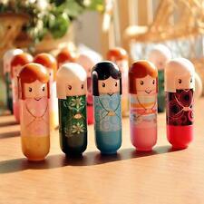Beauty Makeup Kids Baby Girls Doll Style Long Lasting Moisture Lip Balm Lipstick