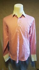 PINK by Thomas Pink Man's Shirt Size: Large VERY GOOD Condition