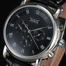 Luxury JARAGAR Automatic Mechanical Watch Men 24Hour Self-wind Calendar Relojes