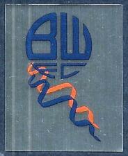 MERLIN-2007-F.A.PREMIER LEAGUE 07- #078-BOLTON WANDERERS TEAM BADGE-SILVER FOIL
