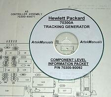 HP 70300A Tracking Generator  CLIP (Schematics) Manual