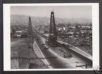 La Cienega Boulevard, Los Angeles, California 1930 Photograph MODERN POSTCARD