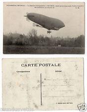 """militaire.Ballon dirigeable """"PATRIE""""military.airship.RAID PARIS-VERDUN"""