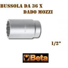 BUSSOLA PER DADO MOZZO POLIGONALE DA 36 MM ATTACCO 1/2 BETA ART. 969B.