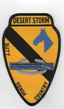 1st Cav Duty/Honor/Country - Operation Desert Storm BC Patch B096
