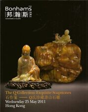 BONHAMS The Q Collection Exquisite Soapstones CHINESE Carvings Auction Cat 2011