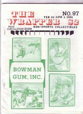 THE WRAPPER #97 - Non-sports cards fanzine - DECLINE & FALL OF THE BOWMAN EMPIRE