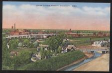 Postcard SIOUX CITY, IOWA (IA) Grand Avenue Viaduct Town Aerail View 1907 ?
