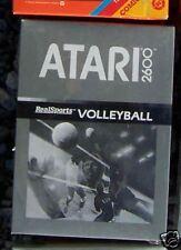 RS Volleyball Atari 2600 New Sealed Box with Manual NTSC