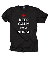 Gift For Nurse T-Shirt Keep Calm And Nurse ON T-Shirt NCLEX Tee Shirt
