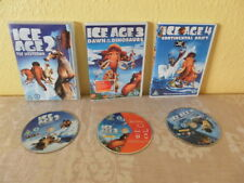 Ice Age 2 3 4 DVD's The Melt Down, Dawn of the Dinosaurs, Continental Drift