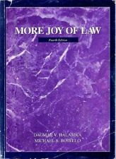 More joy of law Dagmar Halamka Michael Botello 2000 4th Ed Paperback