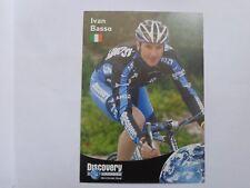 wielerkaart 2007 team discovery trek  ivan basso
