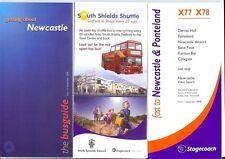 Stagecoach Busways Newcastle Tyne & Wear 2008 +X77-79 +South Shields opentop bus