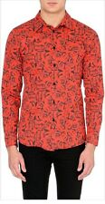 Blood Brother Red Rose 🌹 Men's Size XS Button Down Shirt NWT $220