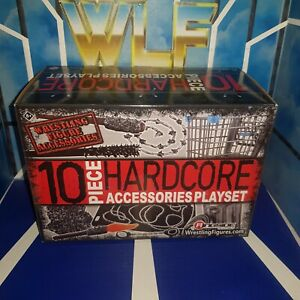 Hardcore Accessories Playset - Ringside Collectibles - WWE Wrestling Figures