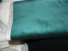 "3 yds 32""  NEW DARK  GREEN VELVET  FABRIC Upholstery,Curtain Fabric"
