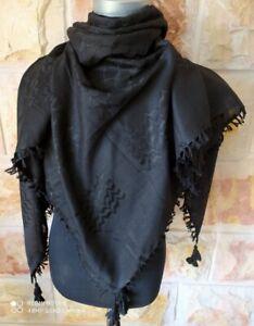 Hirbawi Shemagh 100% Cotton Arab Keffiyeh Tactical Hatta Kofia Wrap حطة فلسطينية