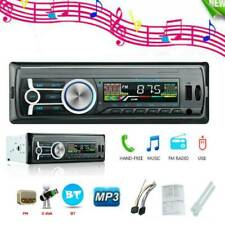 1 Din Car Stereo Audio MP3 Player Bluetooth FM Radio Receiver In-Dash Head Unit