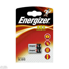 Energizer A23 Alkaline 12V Batteries MN21 LRV08 GP23A - Twinpack
