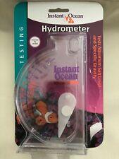 "Instant Ocean Hydrometer Salinity Specific Gravity Gauge - 6-1/16"" Tall"