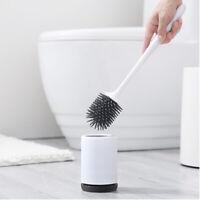 brosse de toilette à poils doux avec base nettoyage de toilette salle de bain
