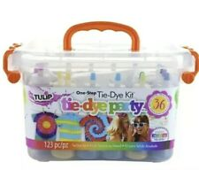 💥Tulip Tie-Dye One Step Party Kit, 123 piece, 18 color bottles, Party Tub Fun