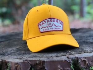 """Patagonia """"Arched Type '73"""" Roger That Hat - Ysidro Yellow - FALL 2017"""