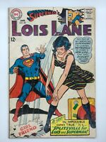 LOIS LANE #80 1968 DC COMIC SILVER AGE GET OUT OF MY LIFE SUPERMAN!