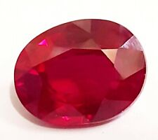 Certified Red Ruby 9.60 Ct Oval Shape 13x10 mm Natural Gemstone From Mozambique
