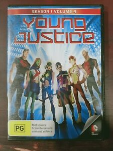 Young Justice: Season 1 - Volume 4 [Region 4] - DVD free shipping