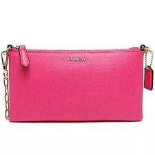 NWT COACH Saffiano Leather Kylie Crossbody Bag pink ruby F50839