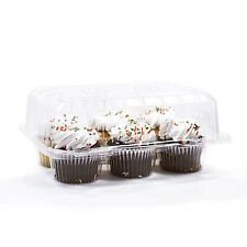 12 Stück 6 Fach Muffin Cake Case Muffin Halter Box Container Carrier