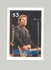 Grenada #1679 Music, Singer, Bruce Springsteen 1v Imperf Proof
