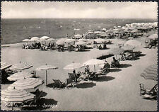 cartolina LIDO DI CAMAIORE spiaggia