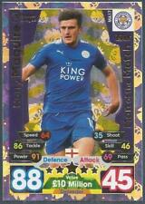 TOPPS MATCH ATTAX 2017-18-EXTRA-MOTM-#MA17-LEICESTER CITY-HARRY MAGUIRE-FOIL