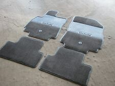 Chevrolet Orlando mats pile on rubber base.With logo.Genuine.New.