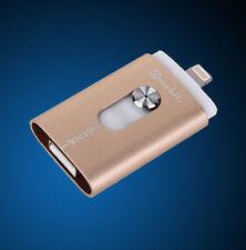 USB i-Flash Drive Device i-Flash OTG for 8 pin iPhone 6 Plus 6 5 5c 5s iPod 64GB