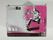 AresKo Kids/Youth Protective Gear Set, Kids Knee Pads and Elbow Pads Wrist Guard