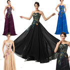 50S Vintage PEACOCK Cocktail Evening Dresses PARTY Prom WEDDING Ball Gown PLUS++