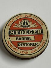 Stoeger gun Barrel Restorer vintage Tin Can Stoeger Arms Half Full