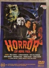 HORROR TEN MOVIE PACK DVD PRE-OWNED