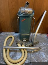 Vintage 1940s Sled Airway-Sanitizer Canister Vacuum Cleaner #66 w/attachments