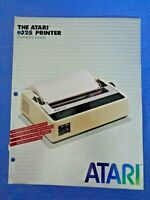 Atari 1025 Printer Owner's Guide Computer Nolan Bushnell 1982 User Manual Book