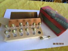 12 AMPOULES NAVETTES PERLUX 6/8 V6 DIAMETRE 43X14,5mm PLAFONNIER